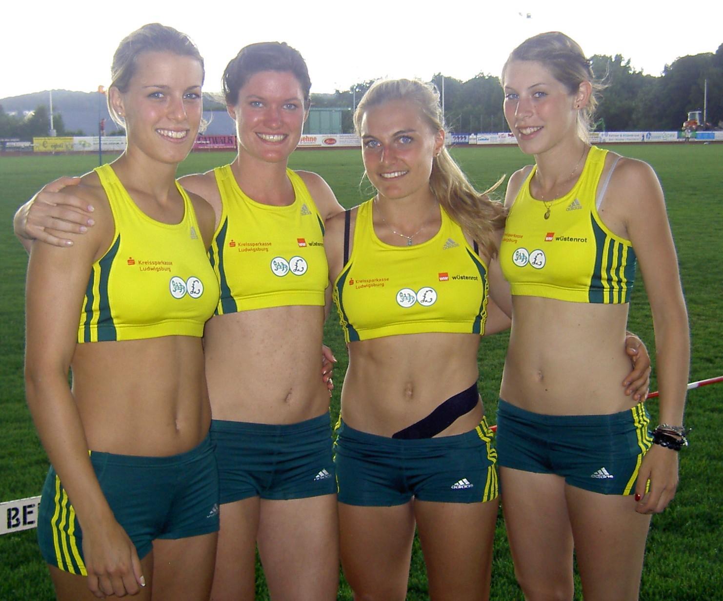 4x100m Frauen