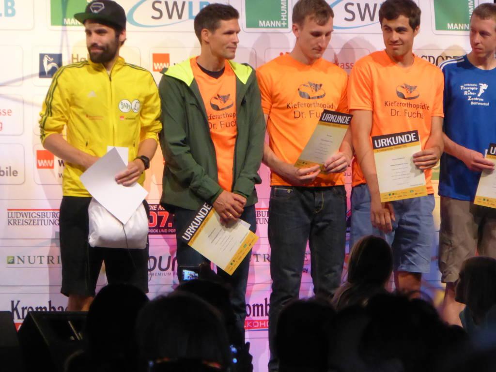 Über die 10km Strecke erreichte Markus Hauber einen hervorragenden 3. Platz