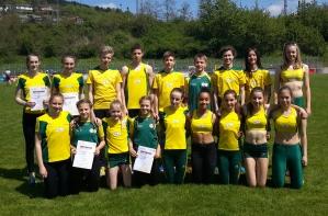Staffelteilnehmer der U16